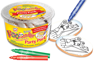 Football Cookie Coloring Party Pack