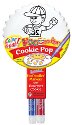 Baseball Cookie Pop