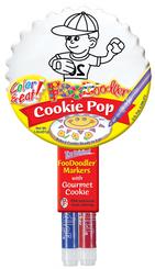 Baseball Cookie Pop