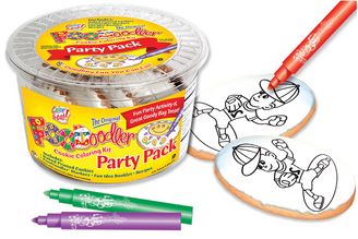 Baseball Cookie Coloring Party Pack