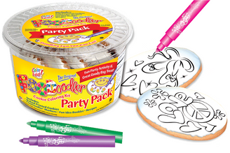 Ballet Slippers & Love/Peace Coloring Party Pack