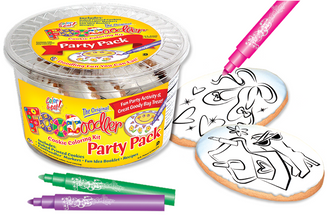 Accessories & Ballet Slippers Coloring Party Pack