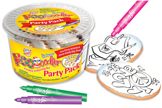 Accessories & Love/Peace Coloring Party Pack