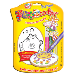 Fish Cookie Coloring Kit
