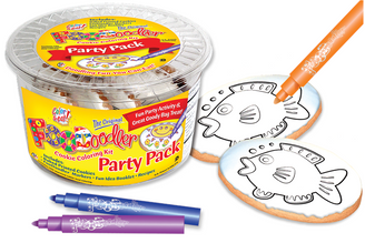 Fish Cookie Coloring Party Pack