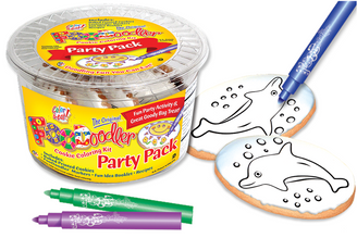 Dolphin Cookie Coloring Party Pack