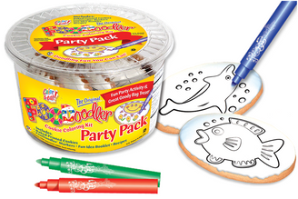 Dolphin & Fish Cookie Coloring Party Pack