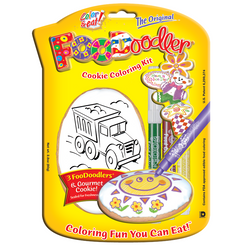 Truck Cookie Coloring Kit