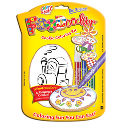 Train Cookie Coloring Kit