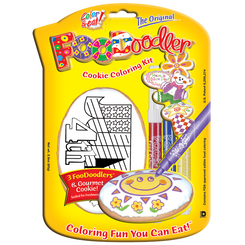 Fourth of July Cookie Coloring Kit