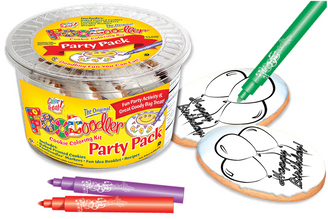 Balloons Cookie Coloring Party Pack
