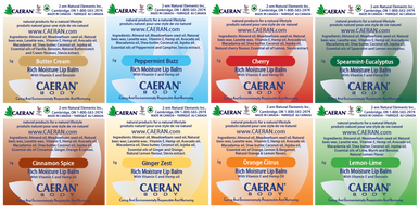 8 Scrumptious and Soothing Lip Balm Flavours from CAERAN