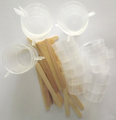 Resin Mixing Cups & Stir Sticks 20 Each