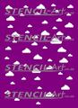 Stencil – Clouds 3
