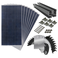 2000 Watt Complete Solar Kit for Every Roof with Microinverters