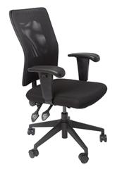 Black Mesh / Black Seat