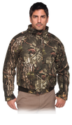 Youth Insulated Sherbrooke Plus Camo Cotton Twill Jacket W/Stand-Up Collar