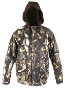 Youth Deluxe Insulated Sherbrooke Plus Camo Cotton Twill Jacket W/Fleece Hood