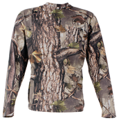 Youth Sherbrooke HD Plus Camo Long Sleeve Cotton Tee W/Pocket