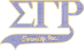SGRHO  Sorority Tail  Rhinestone Tee