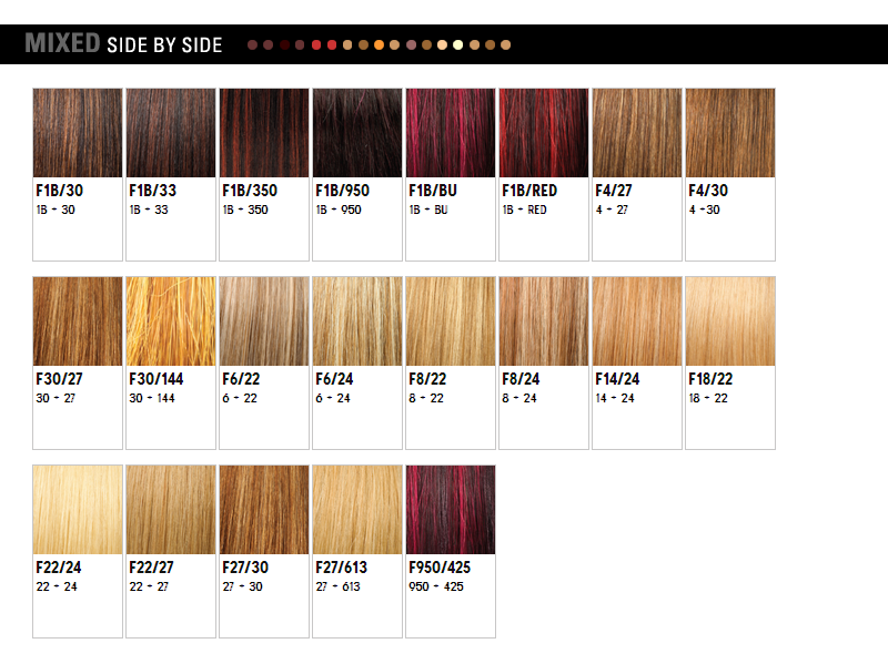 Wigextensionsale web pages outre color chart for Colors for web pages