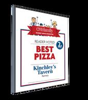 (201) Family Readers' Choice 2015 Souvenir Winner's Plaque