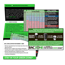 Individual Green Zone® Cards & Fact Folder Combo - When You Want to Buy One Card