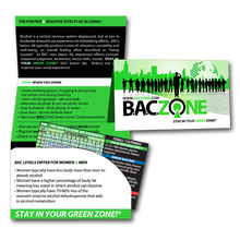 Green Zone® Cards - Protective Fact Folder  $50 per 100 fact folders