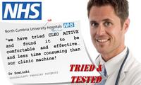 Cleo Active Electric Leg Massager NHS letter