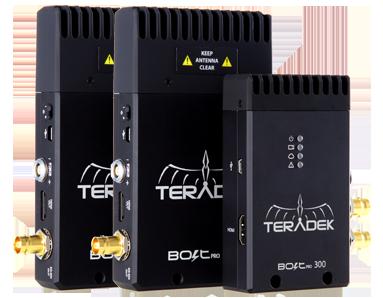 Bolt 300 TX/2RX 3G-SDI Video Transceiver Set