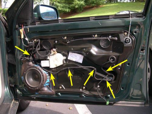 Window Regulator Replacemement Audi Vw
