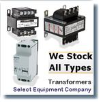 E100  TRANSFORMERS;TRANSFORMERS/CONTROL TRANSFORMER