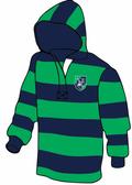 Custom Severn River Rugby Stripe Hoodie