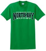 North Bay Rugby Tee, Irish Green