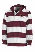 Susquehanna WOMEN Rugby Stripe Hoodie