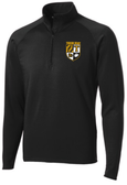 Towson Men PolyStretch 1/2-Zip Pullover