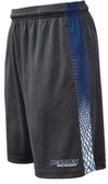 Desales Rugby Gym Shorts, Graphite/Navy