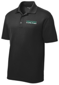 Point Park Rugby Performance Polo, Black