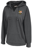 Stingers Ladies-Cut Hoodie, Heathered Black