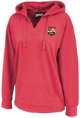 Stingers Ladies-Cut Hoodie, Heathered Red
