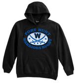 Warriors Rugby Hoodie, Black