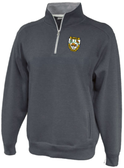 Rochester Aardvarks 1/4-Zip Fleece, Heathered Black