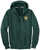 Aardvarks Super Heavyweight Full-Zip Hoodie, Dark Green