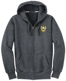 Aardvarks Super Heavyweight Full-Zip Hoodie, Graphite