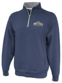 MSM Rugby 1/4-Zip Fleece, Heathered Navy
