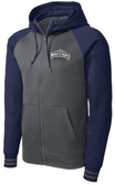 MSM Rugby Full Zip Performance Fleece Hoodie