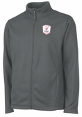 Rugby Illinois Rib Knit Jacket, Gray