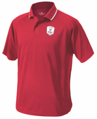 Rugby Illinois Performance Polo, Red
