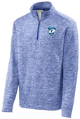 Tempests 1/4-Zip Performance Fleece, Electric Royal