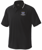 Warriors Rugby Performance Polo, Black